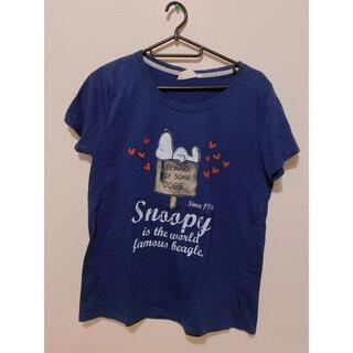 スヌーピー(SNOOPY)のスヌーピーTシャツ ハート(Tシャツ(半袖/袖なし))