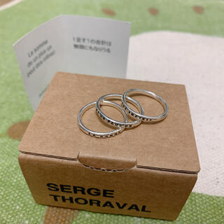 アッシュペーフランス(H.P.FRANCE)のセルジュトラヴァル 三連 リング(リング(指輪))