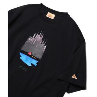 ケルティ(KELTY)のKELTY×FREAK'S STORE ケルティ フリークスストア Tシャツ 黒(Tシャツ/カットソー(半袖/袖なし))