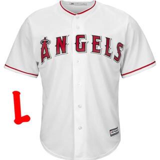 Majestic - L サイズ MLB Los Angeles Angels Home Jersey