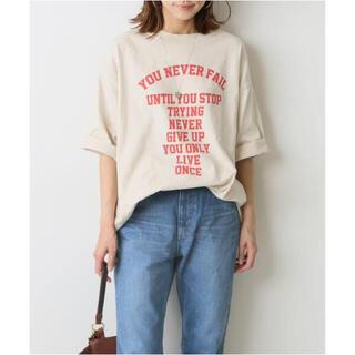 フレームワーク(FRAMeWORK)の正規品 FRAMeWORK フロントロゴハーフスリーブT 2 セール(Tシャツ(半袖/袖なし))