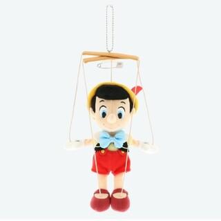 ディズニー(Disney)の東京ディズニーリゾート限定品 ぬいぐるみバッジ ぬいバ ピノキオ(キャラクターグッズ)