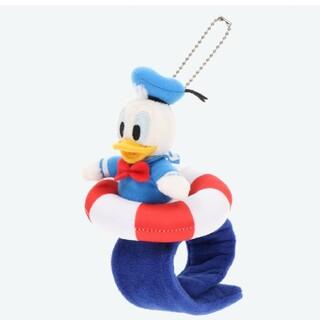 ディズニー(Disney)の東京ディズニーリゾート限定品 ぬいぐるみバンド ドナルド(キャラクターグッズ)