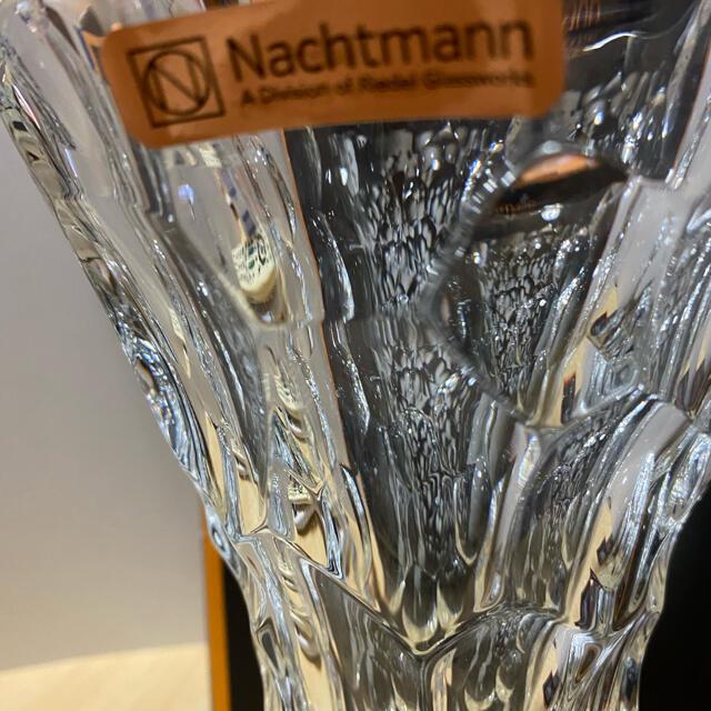 Nachtmann(ナハトマン)のナハトマンのクリスタル花瓶 新品未使用 インテリア/住まい/日用品のインテリア小物(花瓶)の商品写真