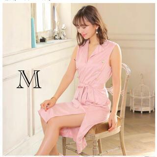デイジーストア(dazzy store)のキャバドレス フォーマルドレス ピンク♡新品(ミディアムドレス)