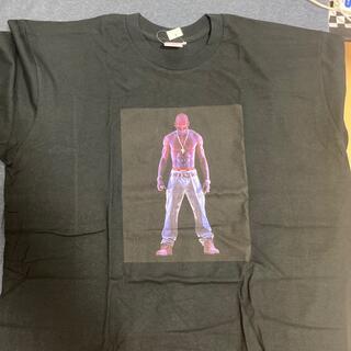 シュプリーム(Supreme)のSupreme Tupac Hologram Tee Black XL(Tシャツ/カットソー(半袖/袖なし))