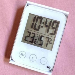IKEA - [新品] イケア スロッティス 湿度計 温度計 置時計 掛け時計