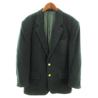 ABAHOUSE - アバハウス ジャケット テーラード 上着 長袖 ウール 緑 L ■SM