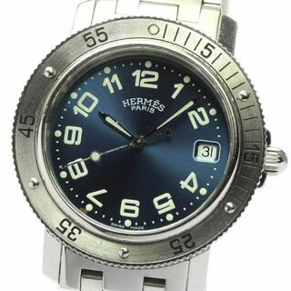 エルメス(Hermes)のエルメス クリッパー ダイバー デイト CL7.710 メンズ 【中古】(腕時計(アナログ))