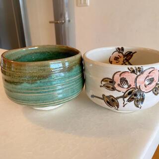 抹茶茶碗2つセット(食器)