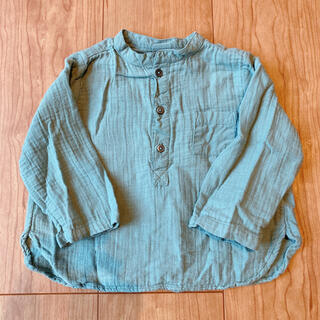 ボンポワン(Bonpoint)のボントン ノーカラーシャツ(シャツ/カットソー)
