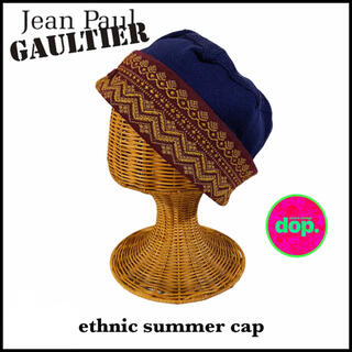 ジャンポールゴルチエ(Jean-Paul GAULTIER)の▼ Jean Paul GAULTIER HOMME ethnic cap ▼(キャップ)
