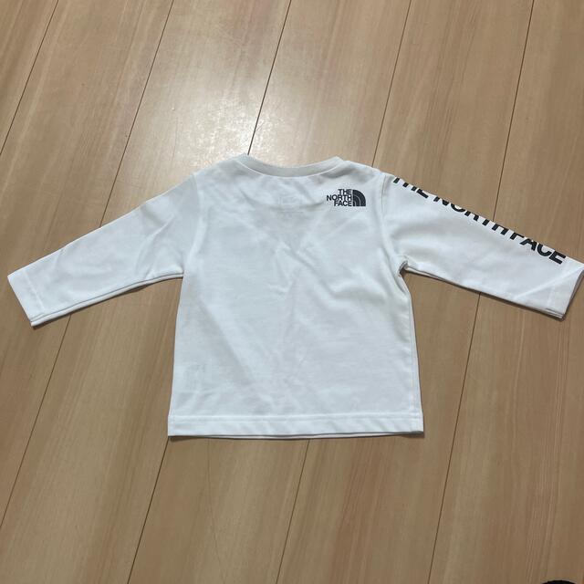 THE NORTH FACE(ザノースフェイス)のノースフェイス♡ロンT♡80 キッズ/ベビー/マタニティのベビー服(~85cm)(Tシャツ)の商品写真