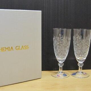 ボヘミア クリスタル(BOHEMIA Cristal)の新品 BOHEMIA GLASS ボヘミア ボヘミアンドリーム ペアワイングラス(グラス/カップ)