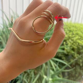 カスタネ(Kastane)のlattice リング☺︎❤︎ゴールド ゴールドリング(リング(指輪))
