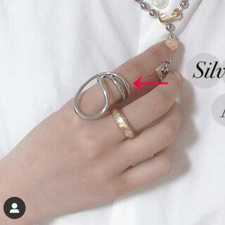 トゥデイフル(TODAYFUL)のlattice リング☺︎シルバー シルバーリング(リング(指輪))