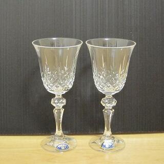 ボヘミア クリスタル(BOHEMIA Cristal)の新品訳あり BOHEMIA ボヘミア ハンドクラフトクリスタル ワイングラス(グラス/カップ)
