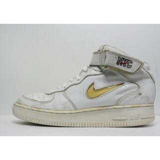 ナイキ(NIKE)のレア Nike Air Force 1 mid NYC Jewel スニーカー(スニーカー)