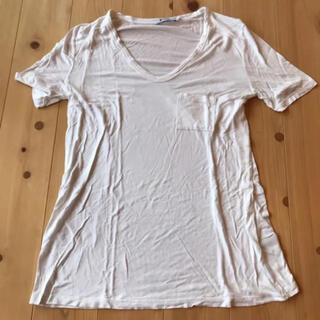 アレキサンダーワン(Alexander Wang)のアレキサンダーワン 白 Tシャツ(Tシャツ(半袖/袖なし))
