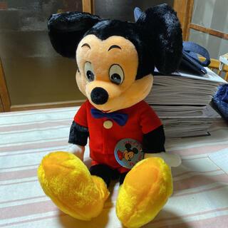 ミッキーマウス(ミッキーマウス)のミッキーマウス ぬいぐるみお値下げ(キャラクターグッズ)