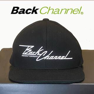 バックチャンネル(Back Channel)の【Back Channel】stitch logo snap back(キャップ)