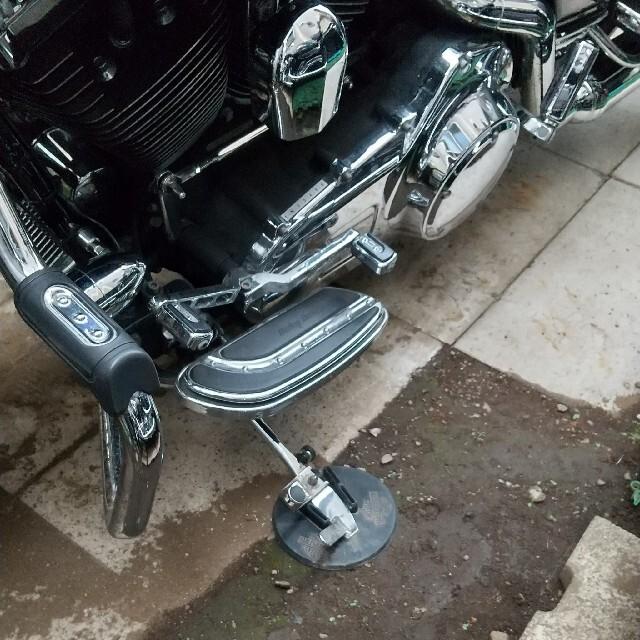 Harley Davidson(ハーレーダビッドソン)のハーレー純正 ハーレーダビッドソン サイドスタンド コースター 自動車/バイクのバイク(装備/装具)の商品写真