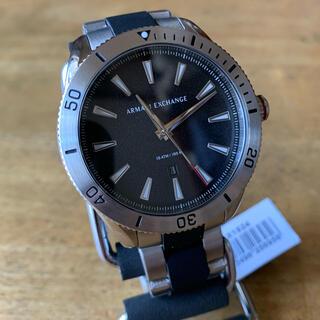 アルマーニエクスチェンジ(ARMANI EXCHANGE)の新品✨アルマーニエクスチェンジ クオーツ メンズ 腕時計 AX1824 ブラック(腕時計(アナログ))