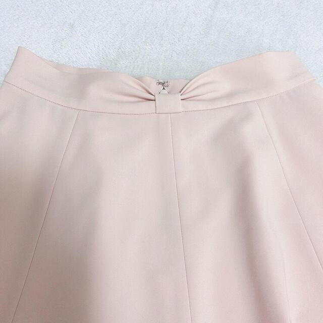 Harrods(ハロッズ)のELISA リボンフレアスカート ピンク サイズ2 レディースのスカート(ひざ丈スカート)の商品写真