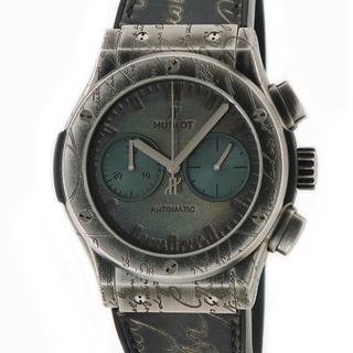ウブロ(HUBLOT)のウブロ  クラシックフュージョン ベルルッティ クロノ 521.NX.0(腕時計(アナログ))