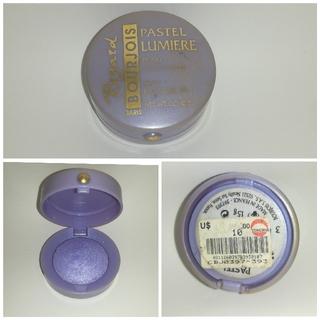 ブルジョワ(bourjois)のBOURJOIS アイシャドウ ラベンダーカラー パープル 紫 フランス製(アイシャドウ)