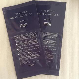 オルビス(ORBIS)のオルビス オーバーナイトホワイトニングジェルEX 試供品2点(パック/フェイスマスク)