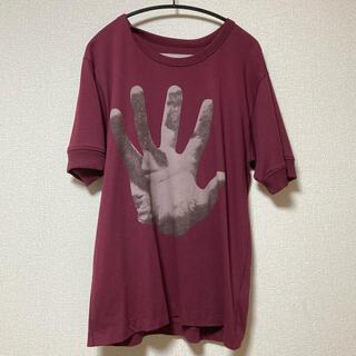 ドリスヴァンノッテン(DRIES VAN NOTEN)の19ss ドリスヴァンノッテン グラフィックTシャツ SIZE L ボルドー(Tシャツ/カットソー(半袖/袖なし))