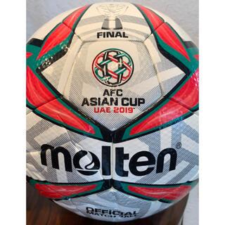 モルテン(molten)の★AFC ASIANCUP UAE2019決勝ボール★アジアカップトロフィー図柄(ボール)