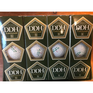 DUNLOP - ゴルフボール DUNLOP DDH(S)12個/1ダース