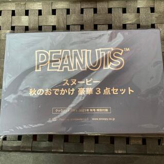 ピーナッツ(PEANUTS)のスヌーピー 秋のおでかけ豪華3点セット(トートバッグ)