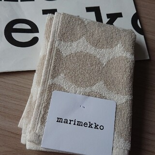 マリメッコ(marimekko)の新品 マリメッコ marimekko タオルハンカチ ミニタオル  ハンドタオル(ハンカチ)