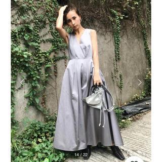 アメリヴィンテージ(Ameri VINTAGE)の新品○Ameri Vintage LADY TUCK FLARE DRESS(ロングドレス)