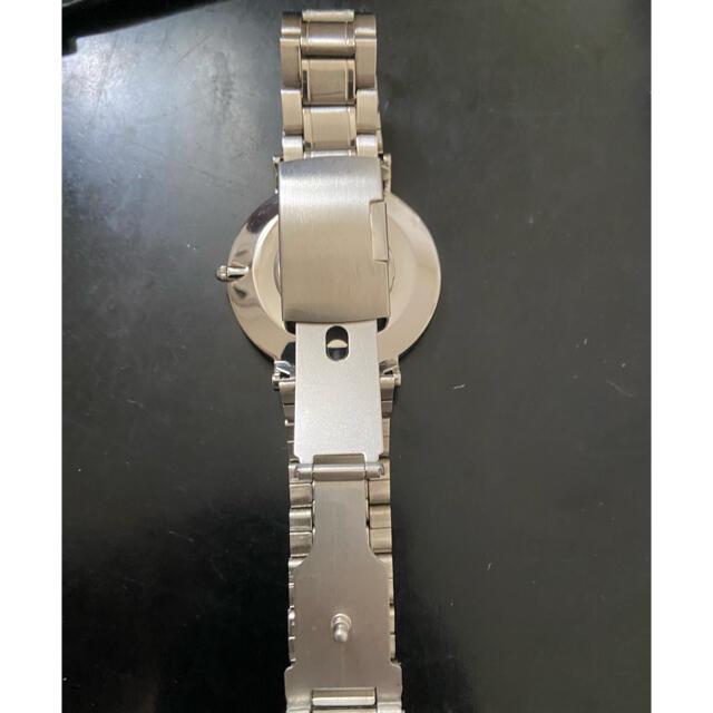 Daniel Wellington(ダニエルウェリントン)の腕時計 ダニエルウェリントン シルバーベルト メンズの時計(金属ベルト)の商品写真