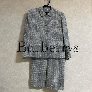 バーバリー(BURBERRY)の【まさ様 専用】バーバリー 9号 レディースセットアップ スーツ (スーツ)