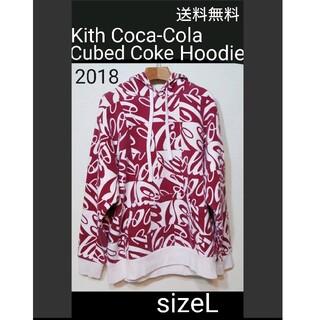 Kith Coca-Cola Cubed Coke Hoodie パーカー L(パーカー)