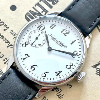 インターナショナルウォッチカンパニー(IWC)の【名門】IWC/シャフハウゼン/アンティーク/メンズ/腕時計/手巻き/ホワイト(腕時計(アナログ))