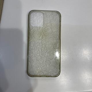 ミッキーマウス(ミッキーマウス)のiPhone 12 mini  ミッキーマウスシリコンカバー(iPhoneケース)