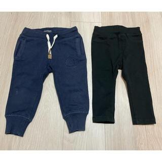 ムジルシリョウヒン(MUJI (無印良品))の男の子 ベビー服 ズボン 無印良品 80(パンツ)