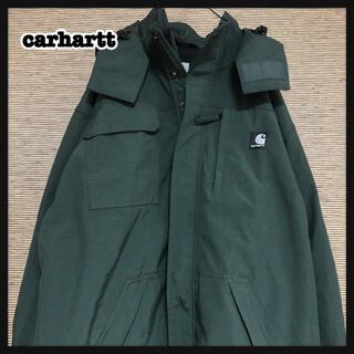 carhartt - 【カーハート】マウンテンパーカー ナイロンジャケット エンブレムタグ  緑87