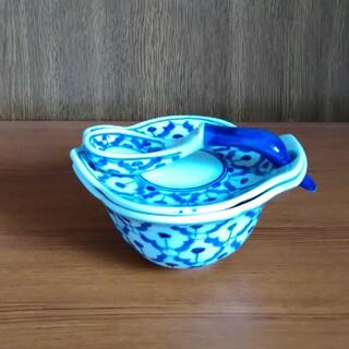 組み合わせ食器 タイ土産 陶器 未使用(食器)