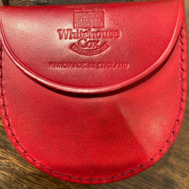 WHITEHOUSE COX(ホワイトハウスコックス)のWhitehouse Cox ホワイトハウスコックス  コインケース メンズのファッション小物(コインケース/小銭入れ)の商品写真