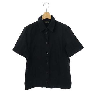 フェンディ(FENDI)のフェンディ 半袖ズッカ柄シャツ 半袖 前開き 44 黒 ブラック /CM ■OS(その他)