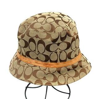 コーチ(COACH)のコーチ COACH シグネチャー バケットハット 帽子 M (その他)