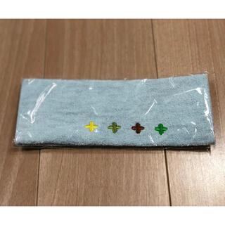 草花木果 - 【非売品】キナリ草花木果 特製ヘアバンド 水色に花模様