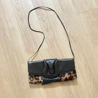 イアパピヨネ(ear PAPILLONNER)のイタリア製 LANZETTI ランゼッティ バッグ ハラコ 美品(ハンドバッグ)